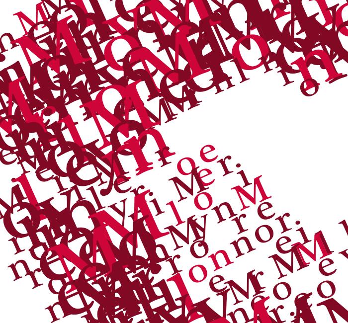 Tele Lettering Merilyn Monroe 50×70