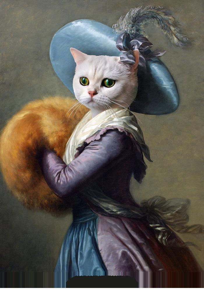 broscure Royal animal portrait-10