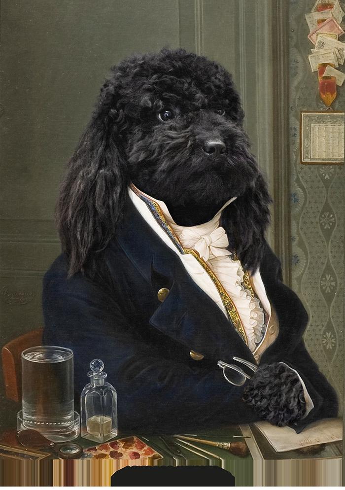 broscure Royal animal portrait-16